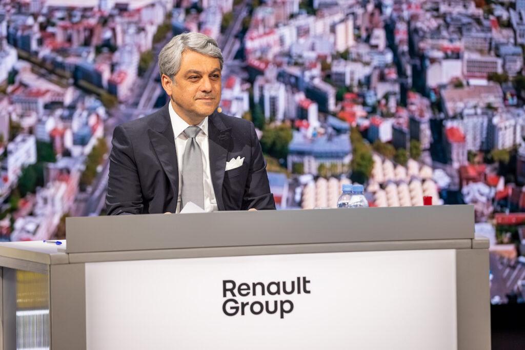 Renault revient dans le vert au premier semestre 2021