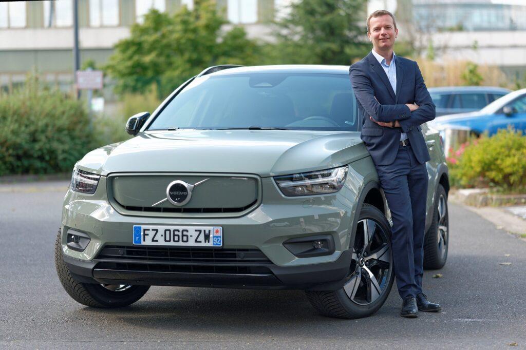Sébastien Meunier, nouveau responsable des ventes entreprises de Volvo Car France.