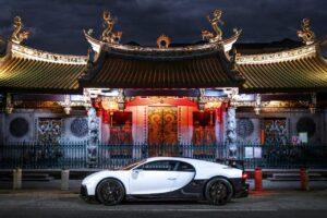 Bugatti a ouvert son premier showroom à Singapour