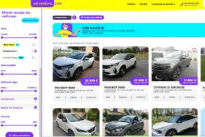 Carventura vendra les véhicules des collaborateurs de Stellantis