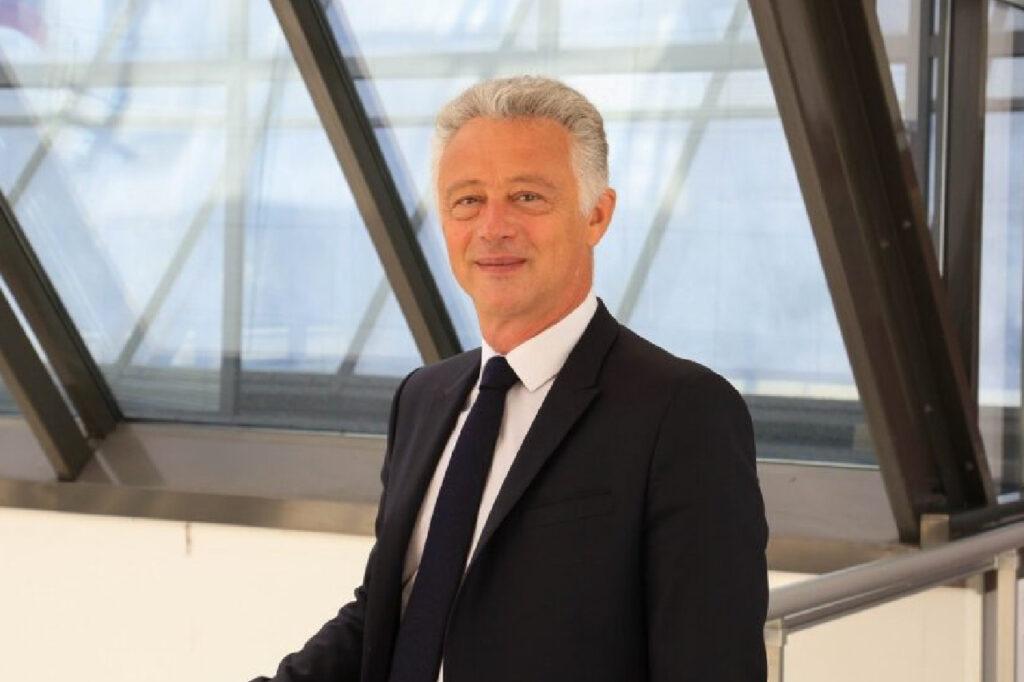 Frank Marotte, président directeur général de Toyota France.
