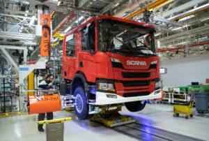 Scania touché par la crise des semi-conducteurs
