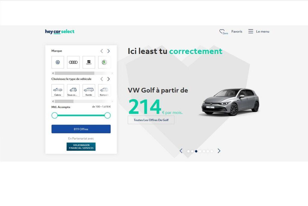 Heycar est disponible en Allemagne, en Grande-Bretagne et en Espagne.