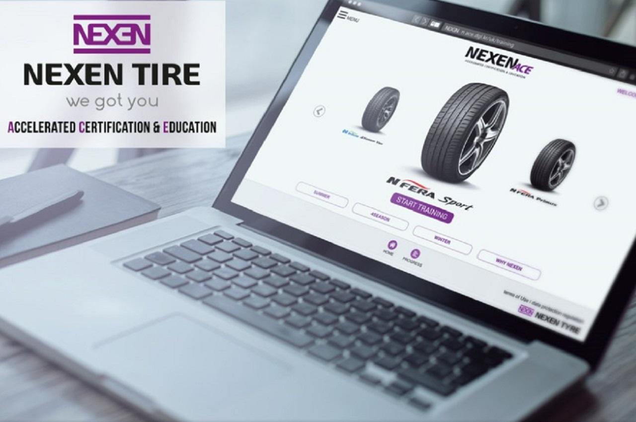 Nexen lance une plateforme de formations en ligne pour les professionnels du pneu