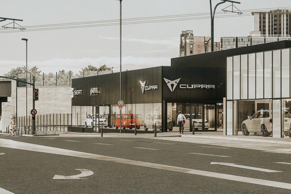 Les marques Seat et Cupra remplaceront Volvo chez ABVV à Epinay-sur-Seine (93)