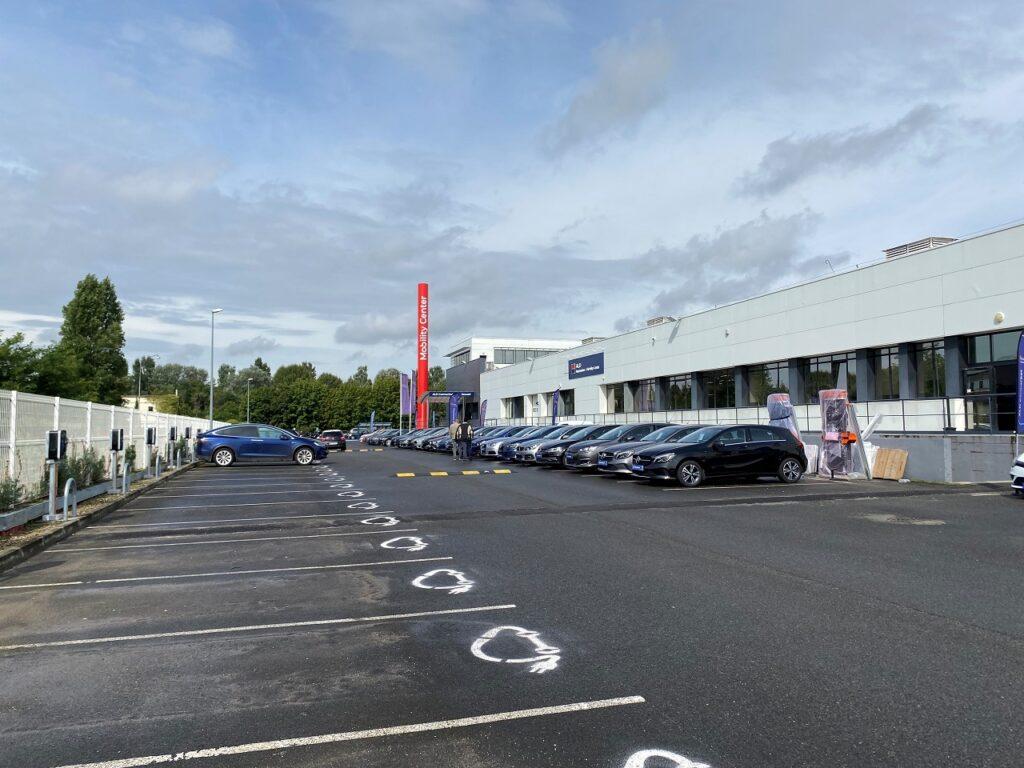 Le Mobility Center d'ALD Automotive, situé à Nanterre (92)