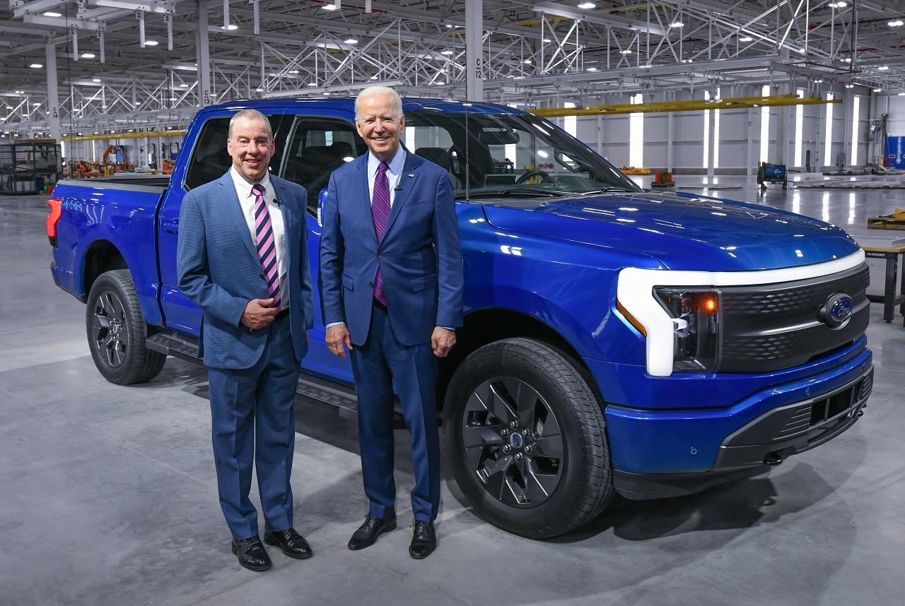 Ford plus électrique que jamais