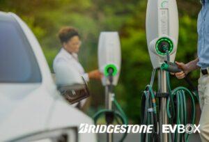 Bridgestone électrifie son réseau avec EVBox