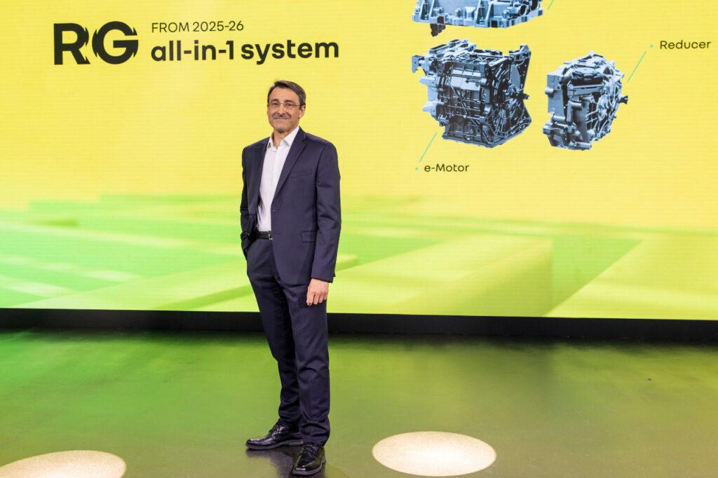 Philippe Brunet, directeur de l'ingénierie mécanique du groupe Renault, à l'occasion de l'évènement Renault e-ways, le 30 juin 2021.