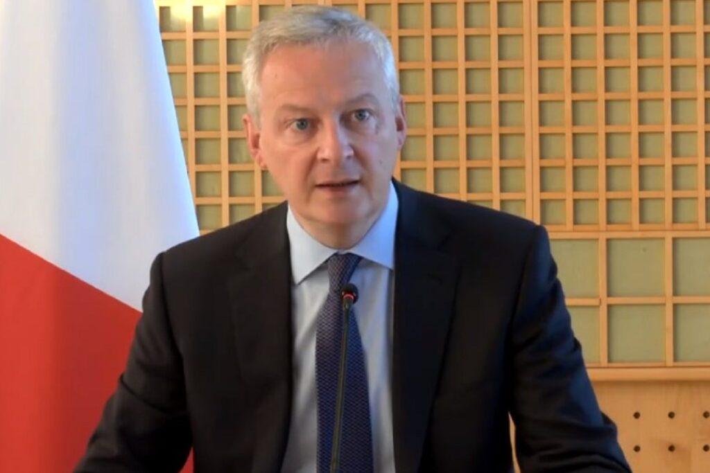 Bruno Le Maire, le 30 septembre 2021, à Bercy