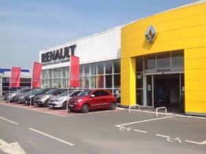 A Lille, les sites de Renault Retail Group en passe d