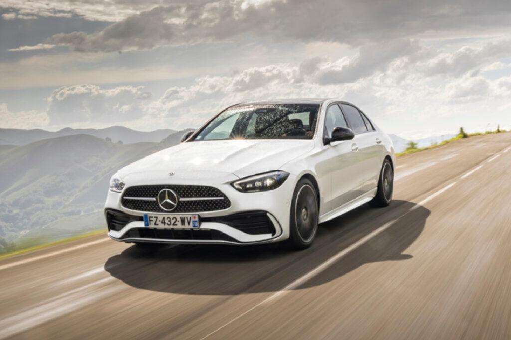 La Classe C est le troisième modèle de Mercedes-Benz le plus vendu en France. ©Adrien Cortesi