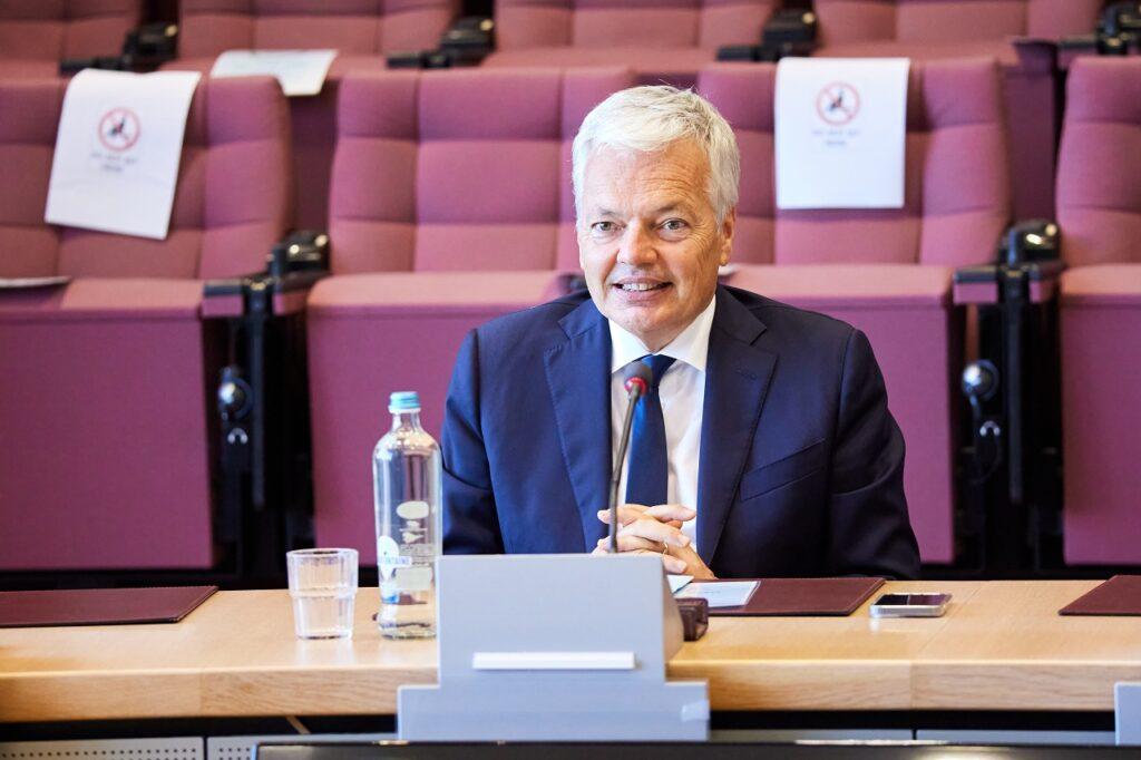 Didier Reynders, commissaire européen en charge de la protection des consommateurs.