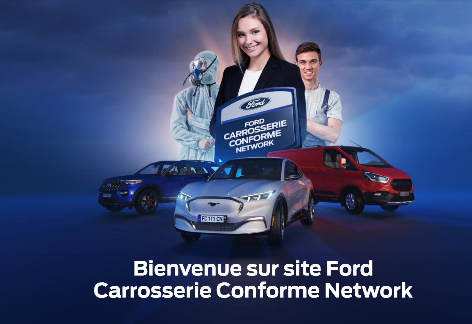 Carrosserie : Ford déploie un programme de labellisation