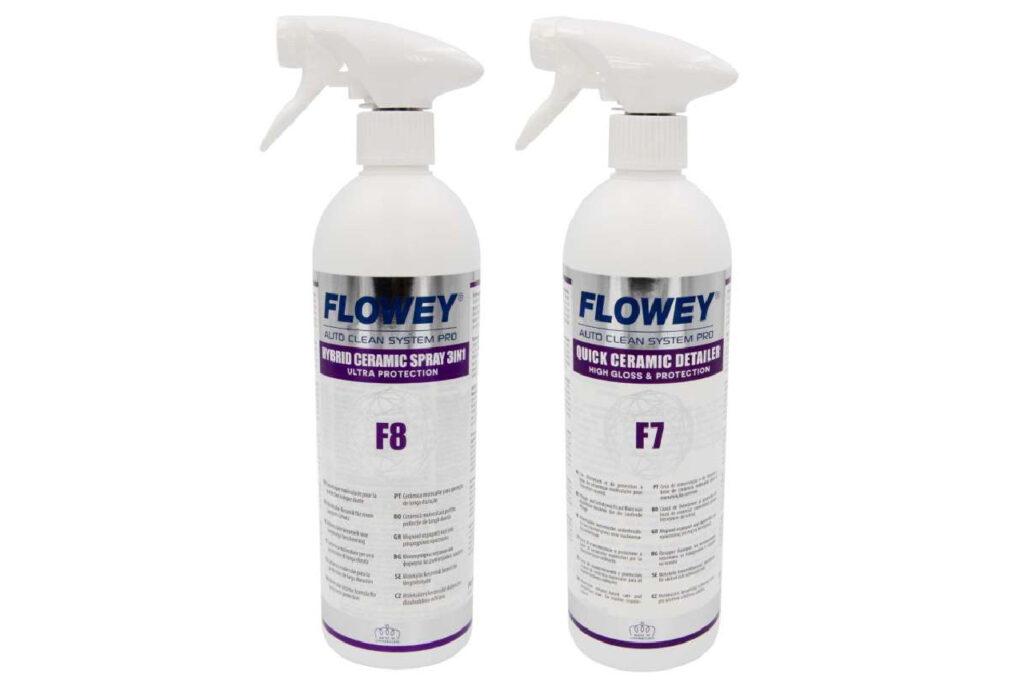 Avec ces deux nouveaux produits, Flowey joue la carte de la protection céramique.