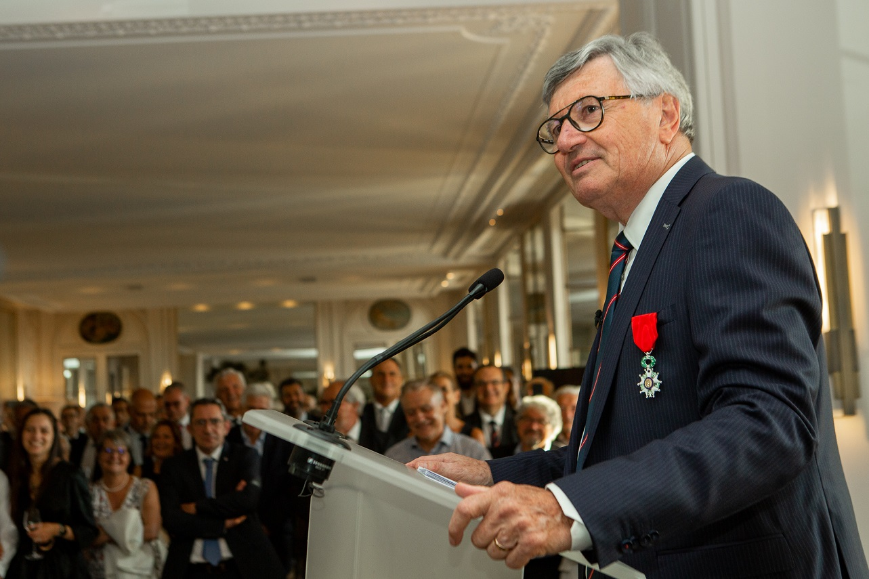 Francis Bartholomé nommé chevalier de la Légion d