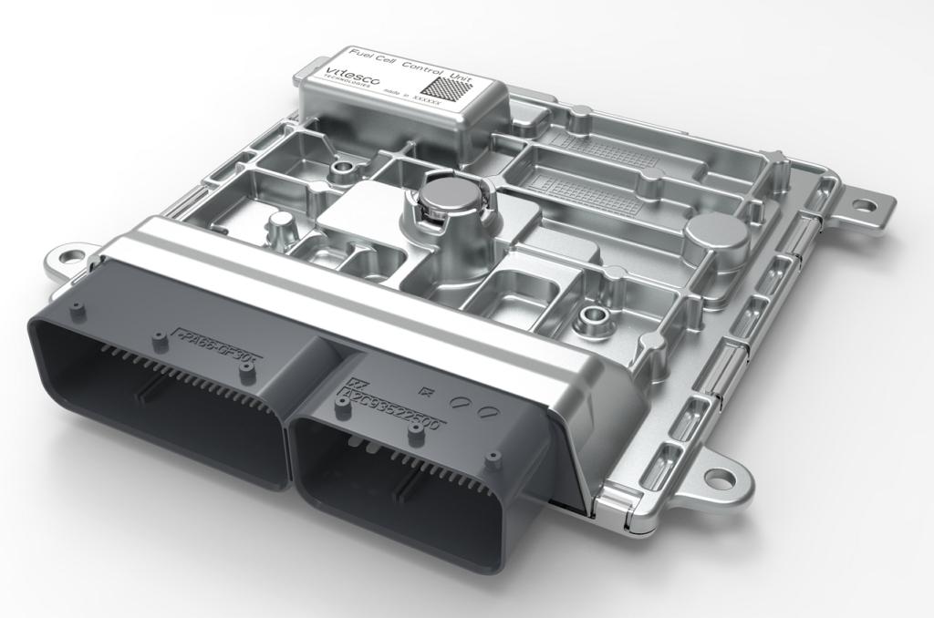 """Vitesco Technologie annonce sa participation au projet """"Électronique de Contrôle pour véhicules à Hydrogène"""" (ECH2)."""