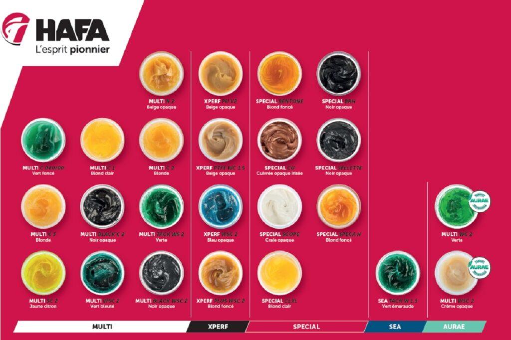 Hafa Brosia, une palette de graisse au service des pros