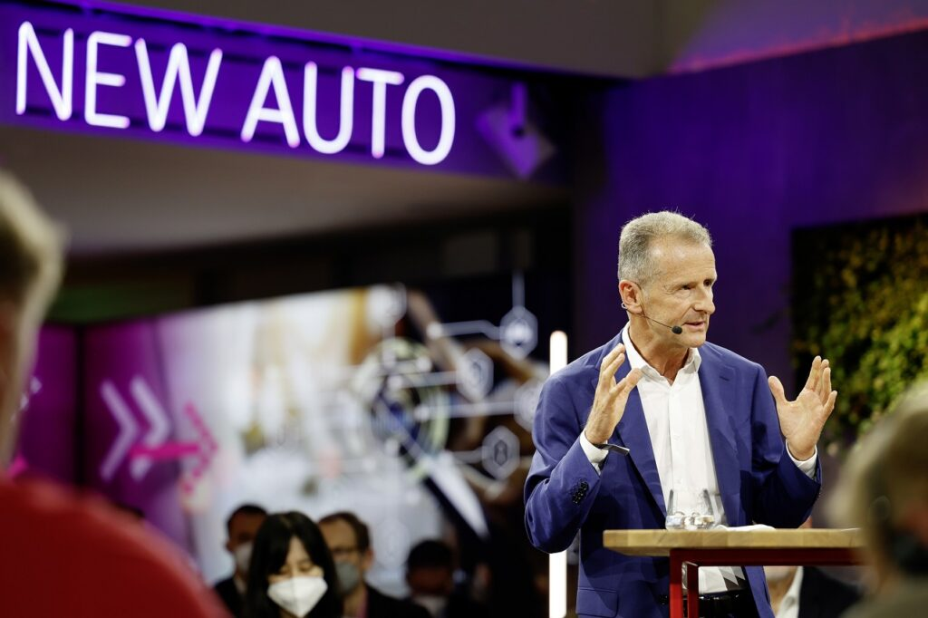 Herbert Diess, CEO de Volkswagen Group.