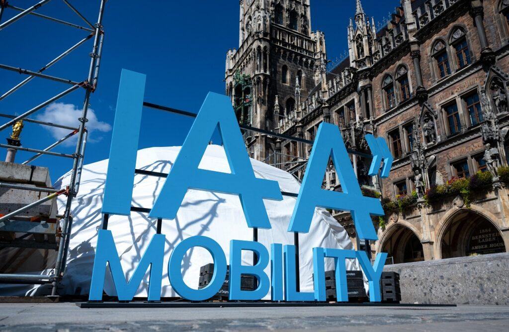 Le salon de l'automobile de Munich est le premier rendez-vous européen du secteur depuis le début de la pandémie. (Photo by SVEN HOPPE / DPA / dpa Picture-Alliance via AFP)
