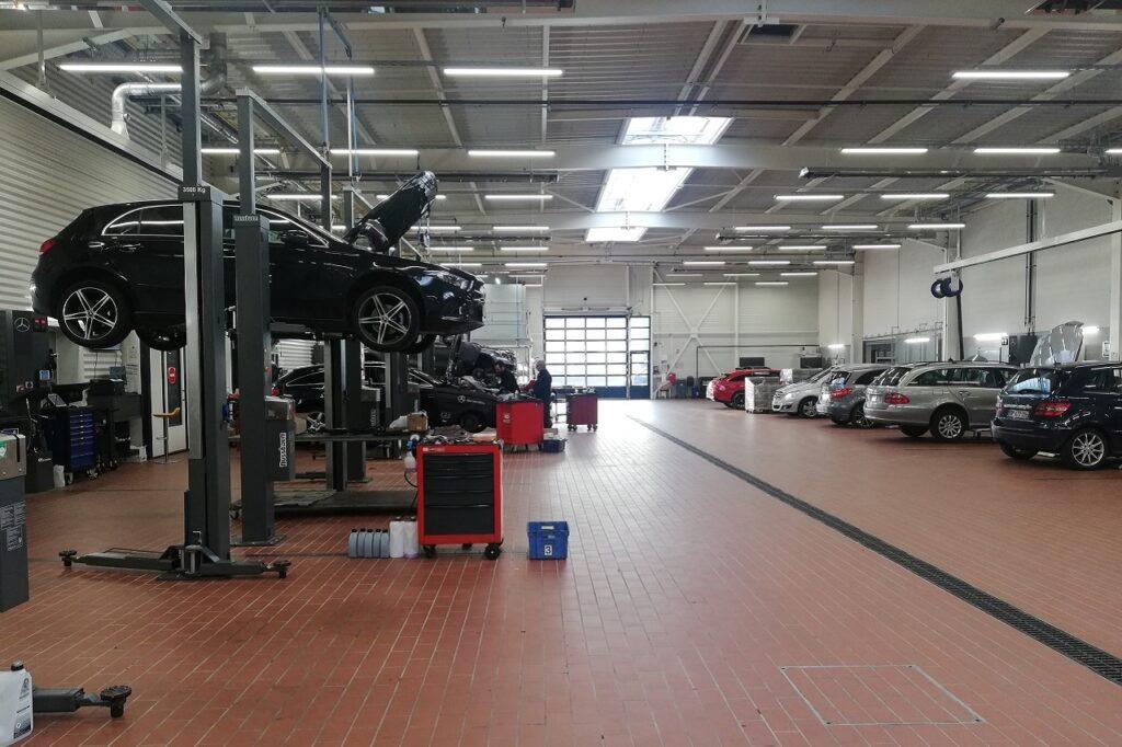 18 % des clients de l'après-vente disent être retournés sur le lieu d'achat de la voiture.
