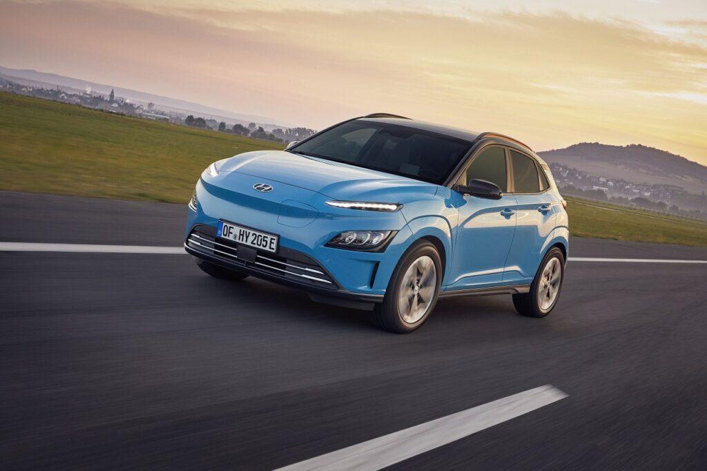 Le Hyundai Kona Electric a représenté 51 % des immatriculations du modèle au premier semestre 2021.