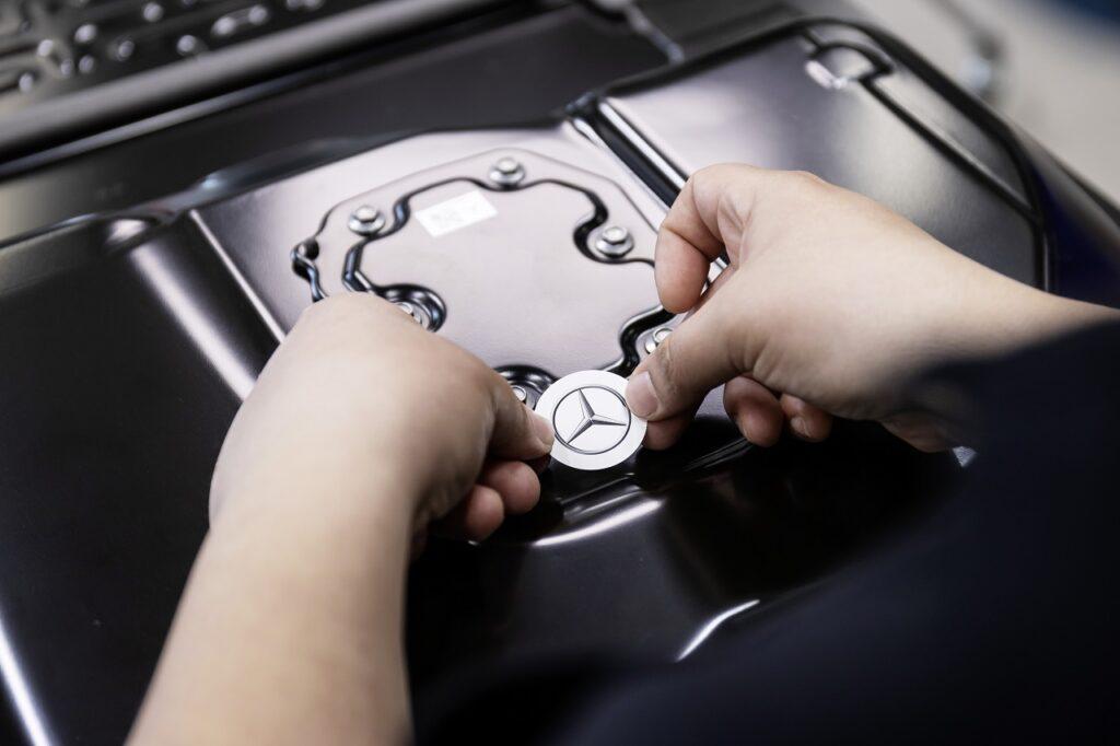 Mercedes est le premier constructeur a rejoindre ACC depuis sa création par Stellantis et TotalEnergies-Saft.