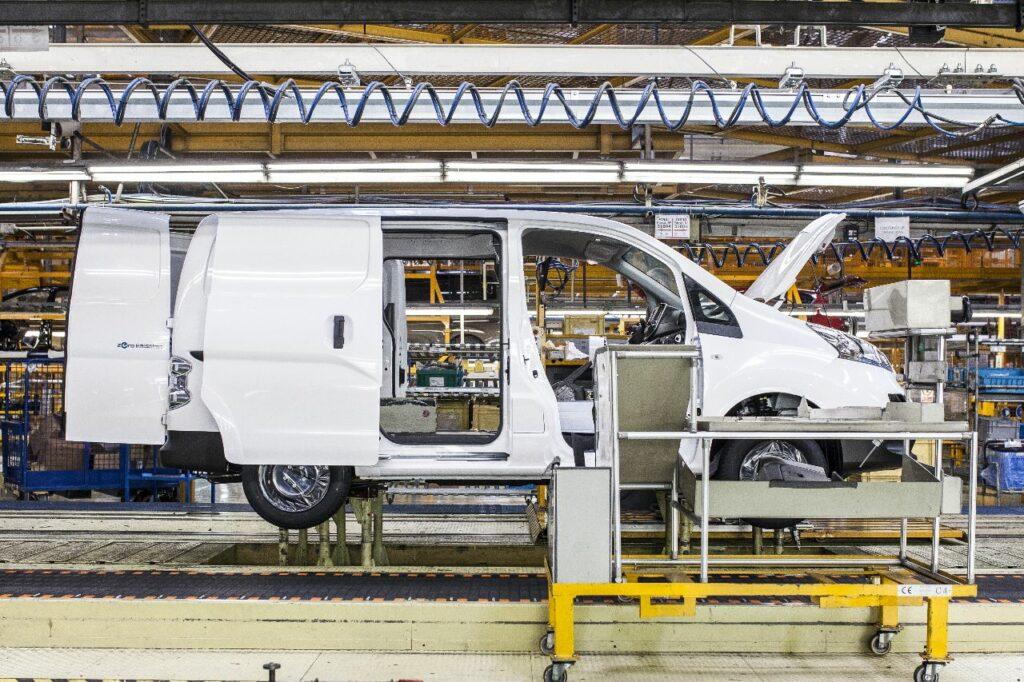 En 2018, le e-NV200 était produit dans l'usine Nissan de Barcelone.