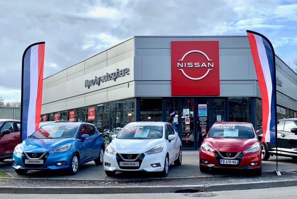Le groupe Emil Frey France est le 4e distributeur Nissan sur le territoire.