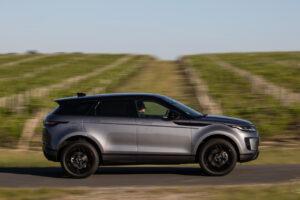 Range Rover : l'Evoque joue la carte E85
