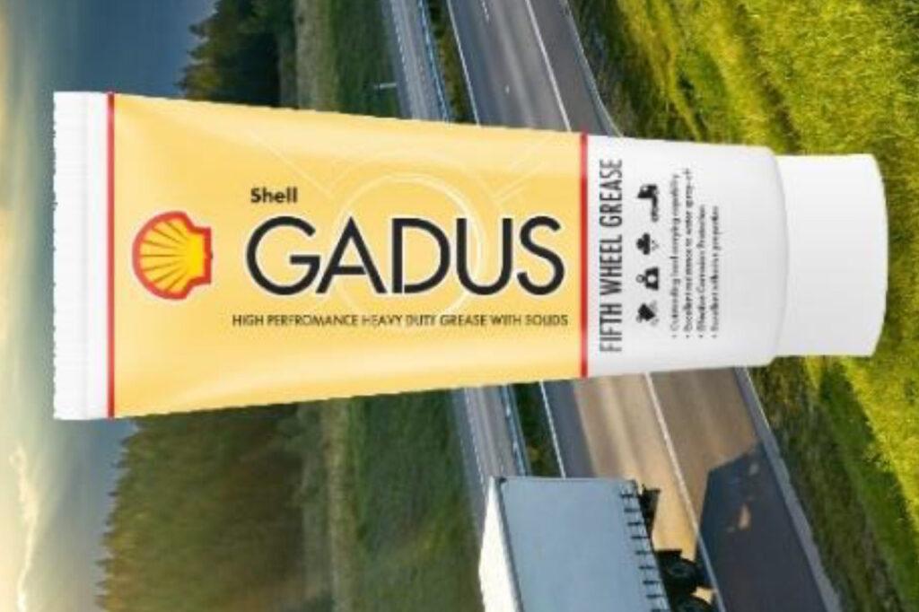 Le graissage de la sellette rendu facile avec le conditionnement tube de la Gadus Fifth Wheel de Shell.