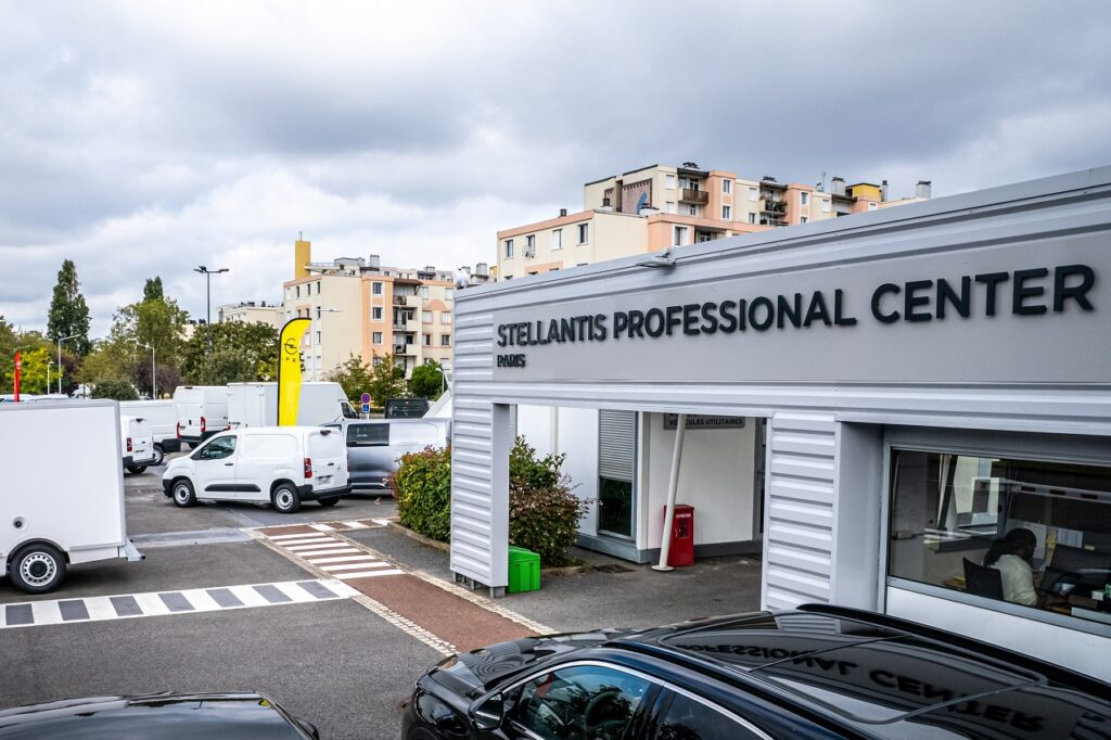 Stellantis a inauguré son Professional Center, à Nanterre (92).