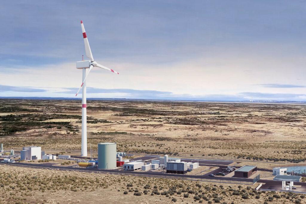 L'usine débutera la production de carburant de synthèse en 2022.