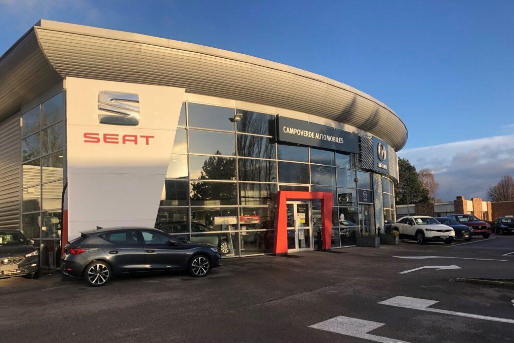 Crédité de 735 ventes par Seat France, le groupe Verbaere se classe 5e distributeur.