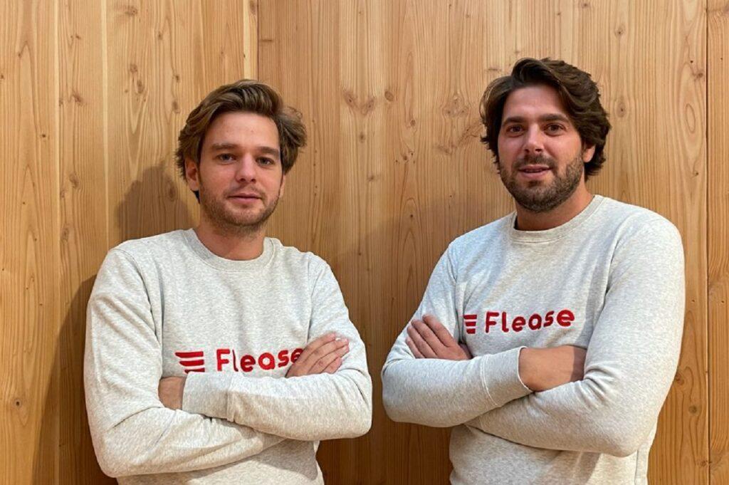 Constantin Eliard et Vincent Dreyfus, cofondateurs de Flease.