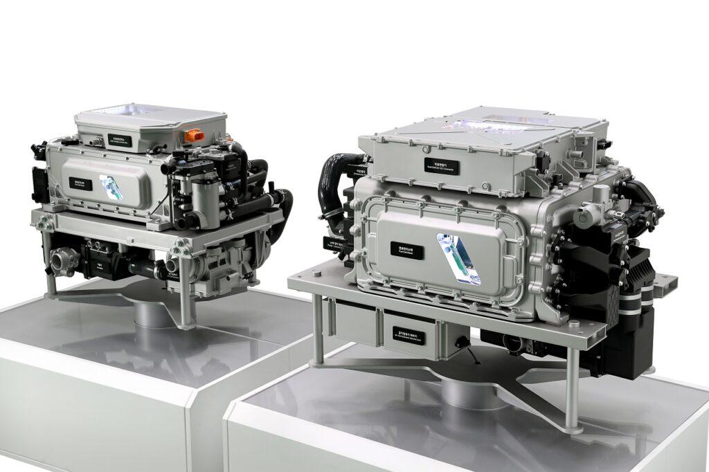 Hyundai annonce que le coût de ses piles à combustible a été réduit de 50 % pour cette troisième génération.