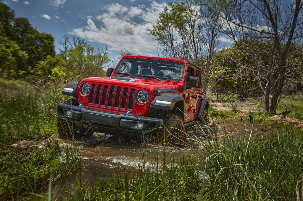 À fin août 2021, Jeep France a déjà immatriculé 528 Wrangler 4xe.