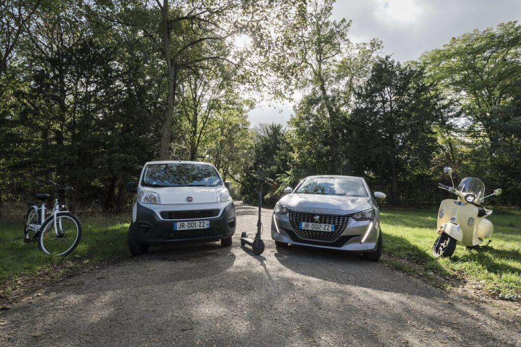 Sous forme d'abonnement, Just Rent propose un service de mobilité avec des véhicules variés.