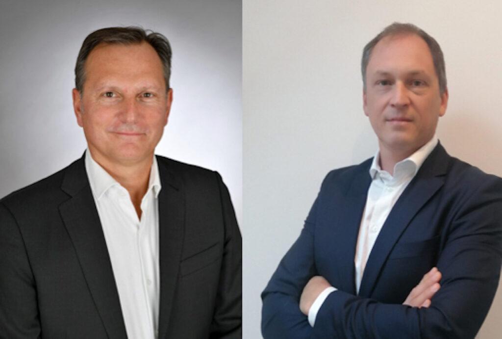 Serge Lardy, directeur commercial et marketing du groupe Kuantic, et Stéphane Boutonnet, directeur commercial de Kuantic France.
