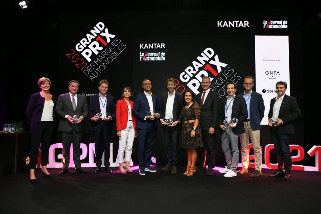 La cérémonie des GPMA s'est déroulée le 23 septembre 2021 au pavillon Vendôme à Paris.