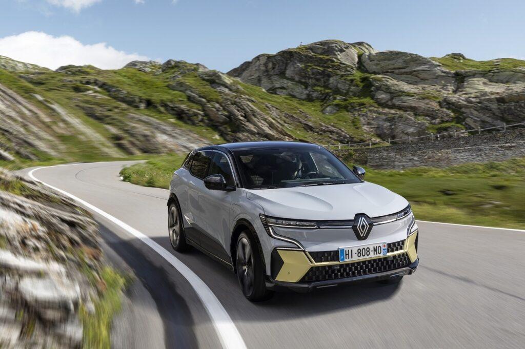 Renault a dévoilé la nouvelle Mégane E-Tech Electric à l'IAA de Munich.
