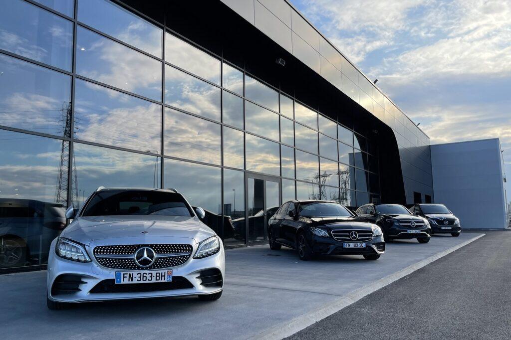 Les 10 distributeurs Mercedes français les plus importants totalisent 97 points de vente.