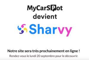 Pour accélérer son développement, MyCarSpot devient Sharvy