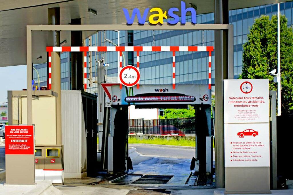 Wash, ou la nouvelle identité du réseau Total Wash.