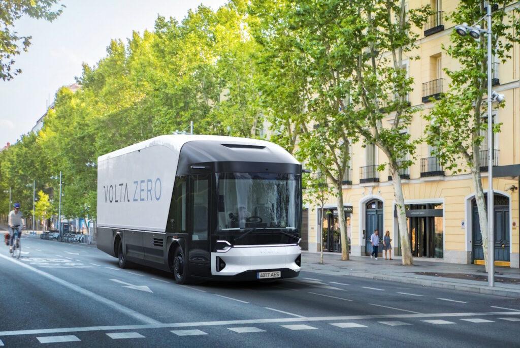 La production du Volta Zero débutera fin 2022 en Autriche.