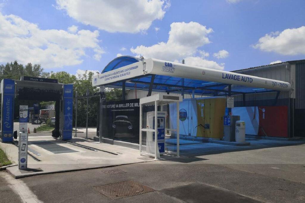 Située à proximité du siège, la station de Saint-Jean-de-Braye (45) est la première installation du SmartCare en France.
