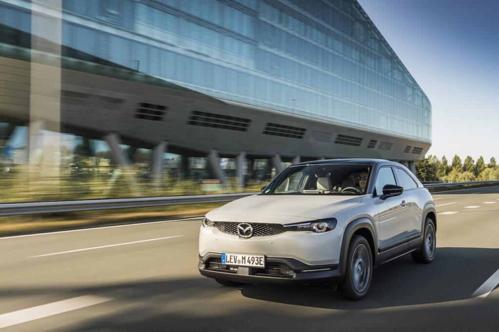 Outre le lancement des CX-60 et CX-80, Mazda proposera une version avec prolongateur d'autonomie du SUV électrique MX-30.