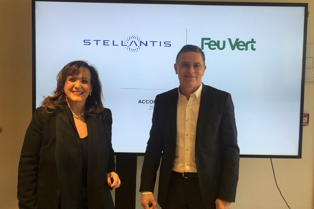 Stellantis et Feu Vert nouent un accord commercial