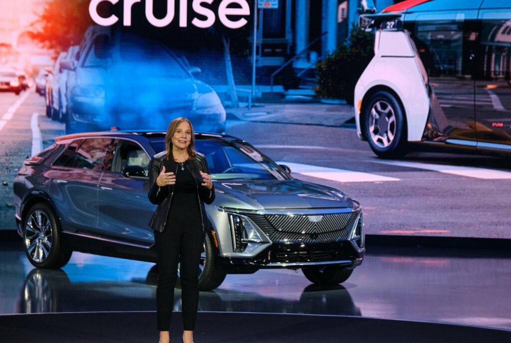 Mary Barra a dévoilé les ambitions de General Motors pour 2030.