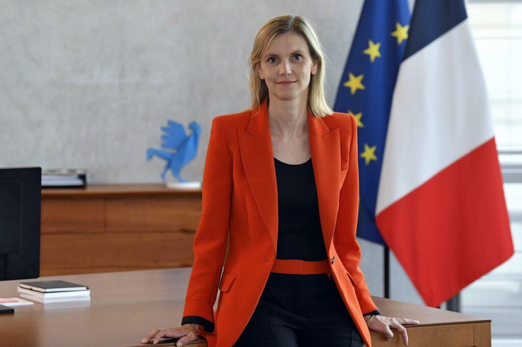Agnès Pannier-Runacher, ministre déléguée à l'Industrie. ©PBagein